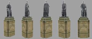 Statue 01 Wire